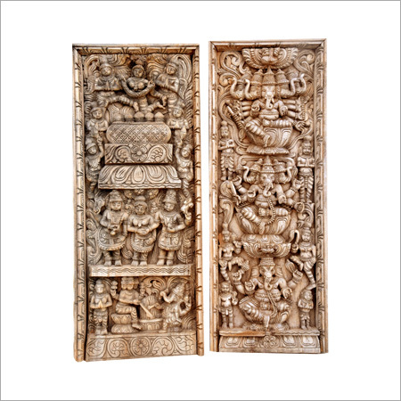 Wooden Ganesh in Various Pose