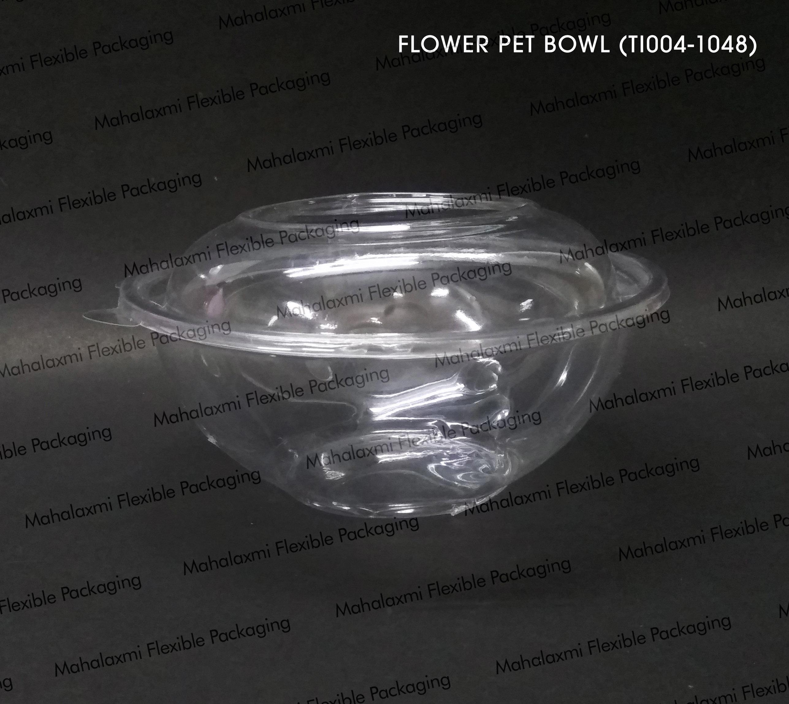 Flower Salad Bowl