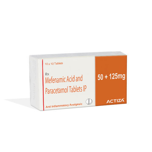 Mefenamic Acid and Paracetamol Tablets