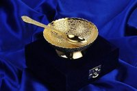 Gold Plated Corporate Gift Bowl