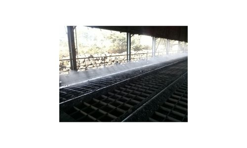 Dust Suppression For Tracker Hopper