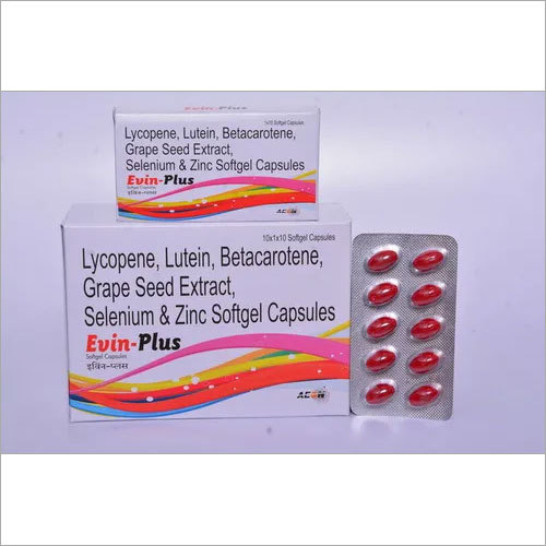 Evin Plus Softgel Capsule