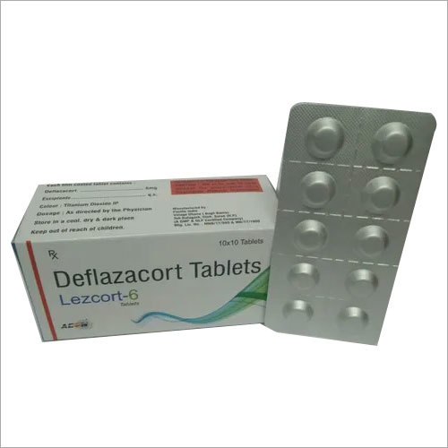 6 Mg Deflezacort Tablet