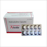 100 Mg Acebrophylline Capsule