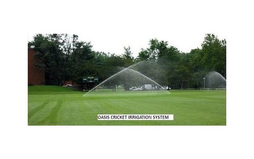 Irrigation for Cricket Field