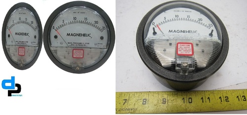 Dwyer USA Magnehelic Gauges 0 To 25 Inch WC