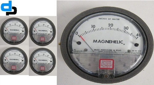 Dwyer USA Magnehelic Gauges 0 To 40 Inch WC