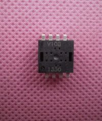 Wireless mouse IC V108 DIP8L 3-6 buttons CPI 400/ 500/ 600/ 800/ 1000(Default)/ 1200 / 1600