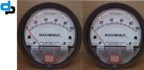 Dwyer USA Magnehelic Gauges 0 To 100 Inch WC