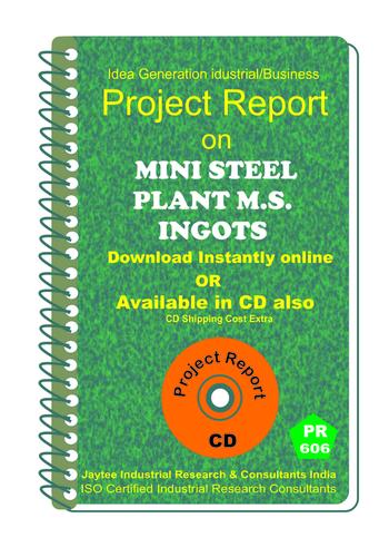 Mini Steel Plant M.S Ingots Manufacturing eBook
