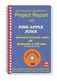 Pine Apple Juice II Manufacturing Project Report eBook