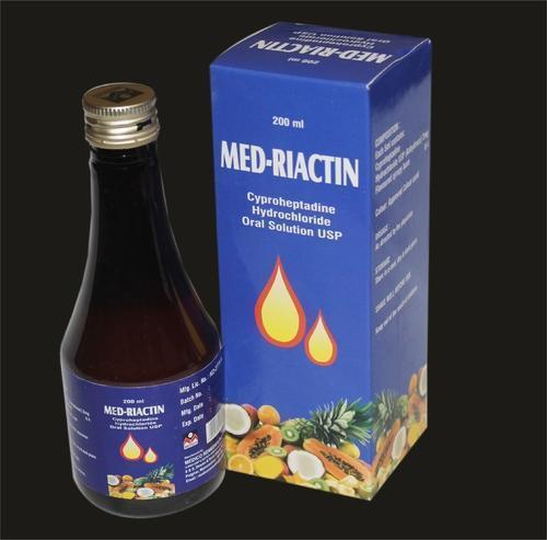 Med Reactin (Cyproheptadine) Syrup