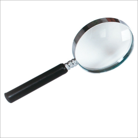 Magnifier Reading Glass Round Held Hand