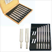 Tuning Forks, Set Of Eight, Aluminum
