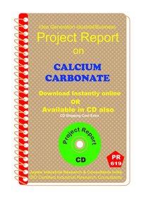 Calcium Carbonate manufacturing Project report eBook