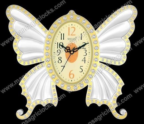 Butterfly wall clock manufaturer