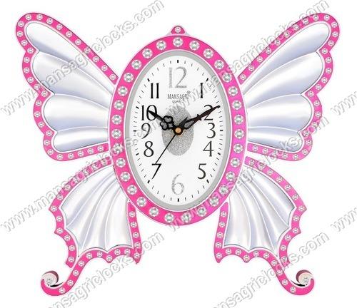 Designer Bufferfly Analog Wall clock