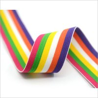 Multi Colored Woven Elastic