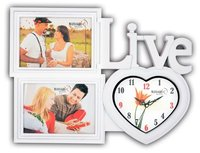 Mansagri photo frame with clock exporter