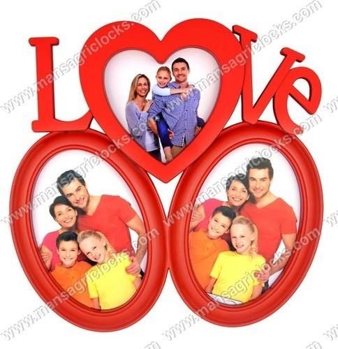 Love Designer Family Photo Frame