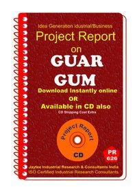 Guar Gum manufacturing Project Report eBook