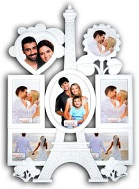 Premium Eiffel Tower Clock with Family Photo frame
