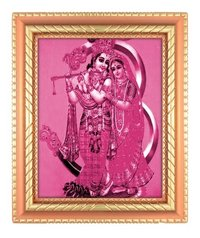 Radhe Krishna God Photo Frame