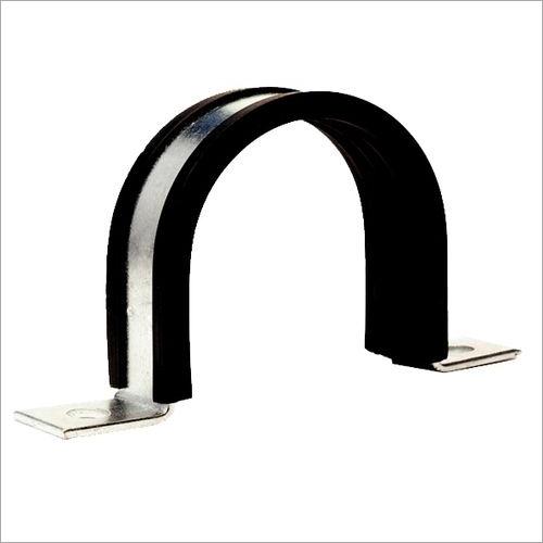 LV rubber Lined U Clamp U  strap