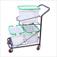 4 Wheel Shopping Trolley