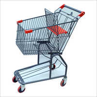 Steel Shopping Cart Trolley