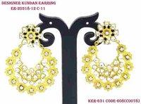 Vilandi Kundan Designer Earring