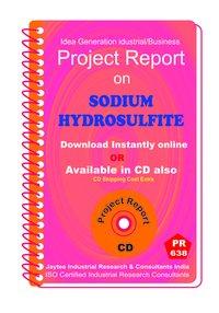 Sodium Hydrosulfite manufacturing Project Report eBook