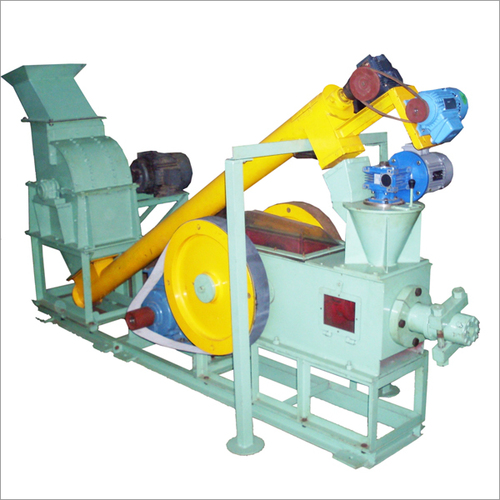 Briquetting Machine With Hammer Mill Grinder