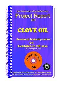 Clove Oil manufacturing Project report eBook