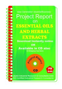 Essential Oils and Herbal Extracts manufacturing eBook