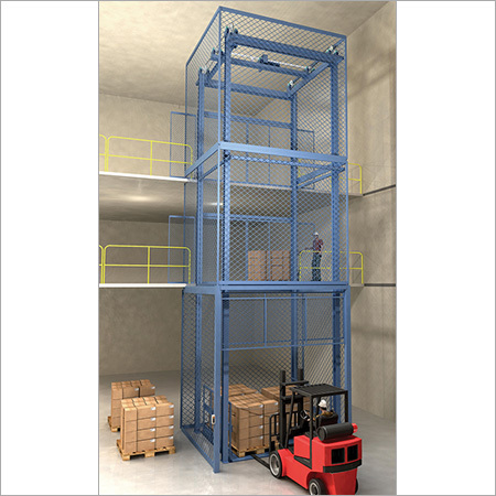 Material Hydraulic Lift