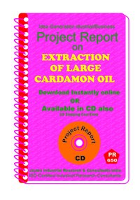 Extraction of Large Cardamon Oil manufacturing eBook