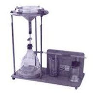Water retention test apparatus