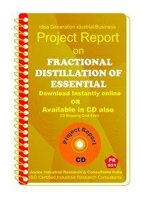 Fractional Distillation of Essential manufacturing eBook