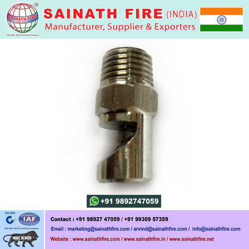 Cement Dust Water Spray Flat Fan Nozzle