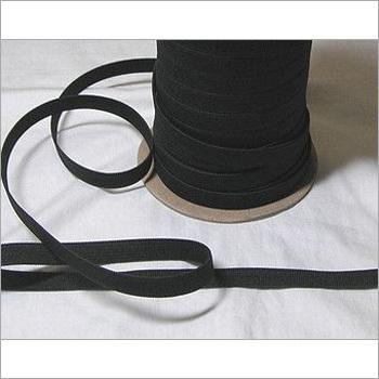 Black Knitted Elastic Tape