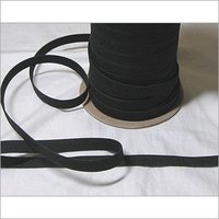 Black Knitted Elastic Tape