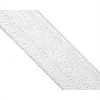 White Knitted Elastic Tape