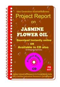 Jasmine Flower Oil manufacturing Project Report eBook