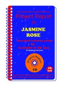 Jasmine ,Rose manufacturing Project Report eBook