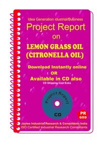 Lemon Grass Oil (Citronella Oil ) manufacturing eBook