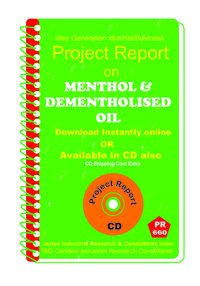 Menthol and Dementholised Oil manufacturing eBook