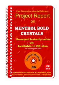 Menthol Bold Crystals manufacturing eBook