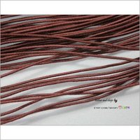 Dark Brown Cord Elastic