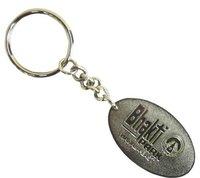 Bhakti Metal Keychain